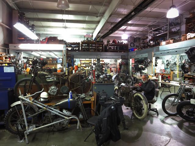 Joe Gardella in the Wheels Through Time workshop