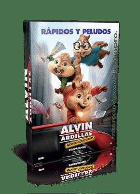 Descargar Alvin y las Ardillas 4: Aventura sobre ruedas (2015)