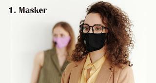 Masker adalah benda yang wajib kamu bawa selama new normal