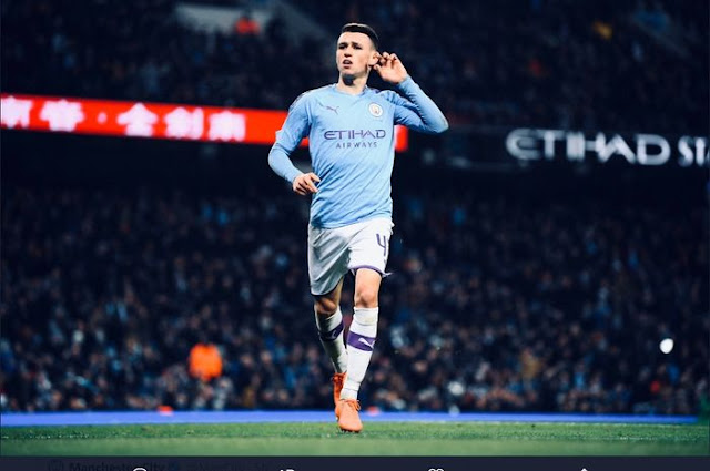 Making history, the Manchester City boy does not know how to celebrate the VAR goal