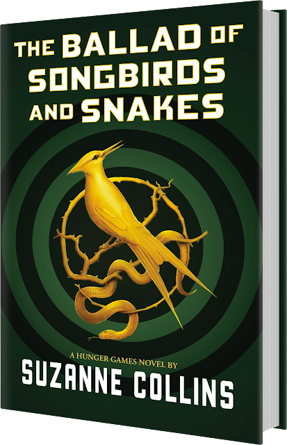 The Ballad of Songbirds and Snakes novel cover