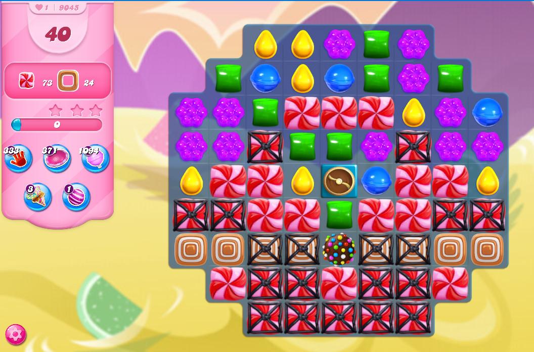 Candy Crush Saga level 9045