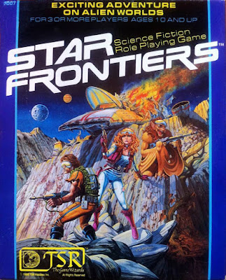 Star Frontiers, First Edition