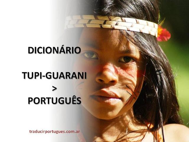 diccionario tupi guaraní portugués, traductora de portugués, traducciones, argentina