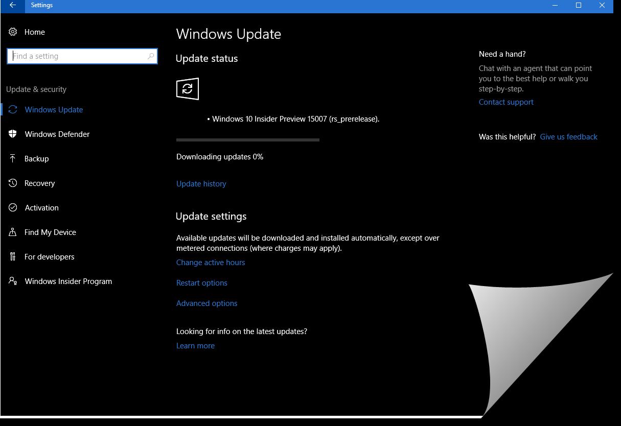 my windows update is stuck at 100