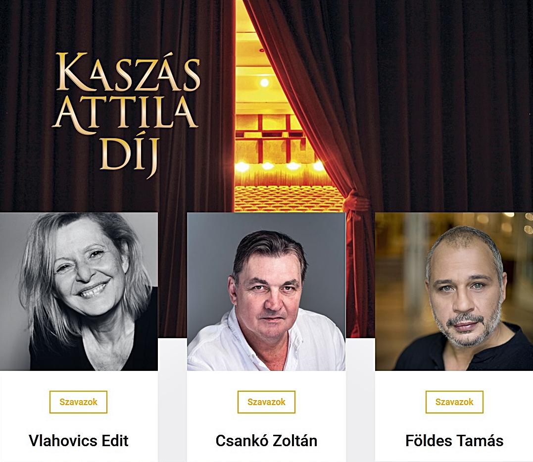 Kaszás Attila-díj - Augusztus 23-ig még lehet szavazni a jelöltekre