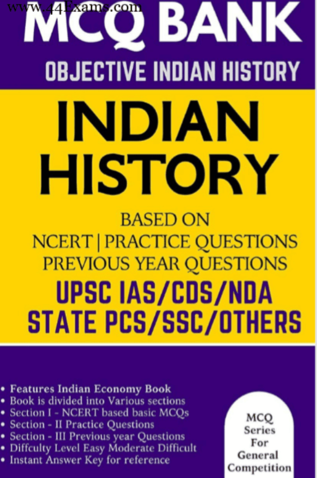 Indian-History-MCQ-Bank-For-All-Competitive-Exam-PDF-Book