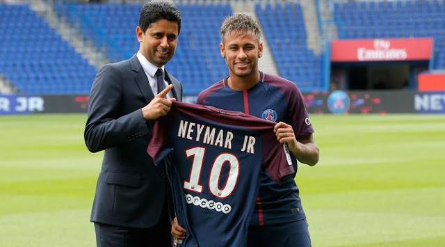 Neymar resmi menjadi milik PSG