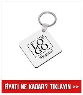 logolu anahtarlık