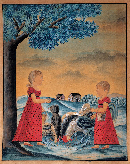American Folk Art Painting