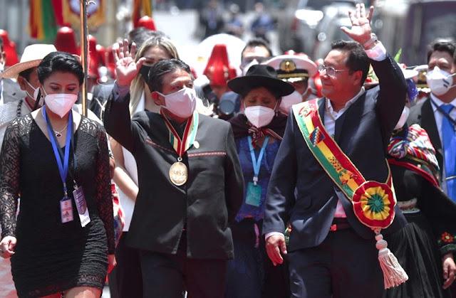 Luis Arce asume presidencia en Bolivia