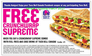 Taco Bell coupons march