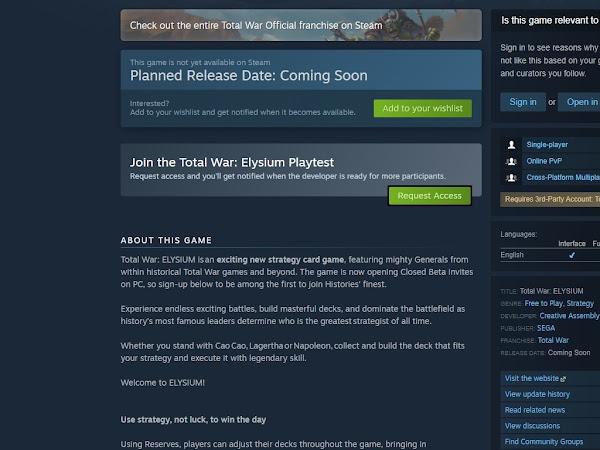 Steam Hadirkan FItur Playtest Untuk Coba Game Beta Test Gratis