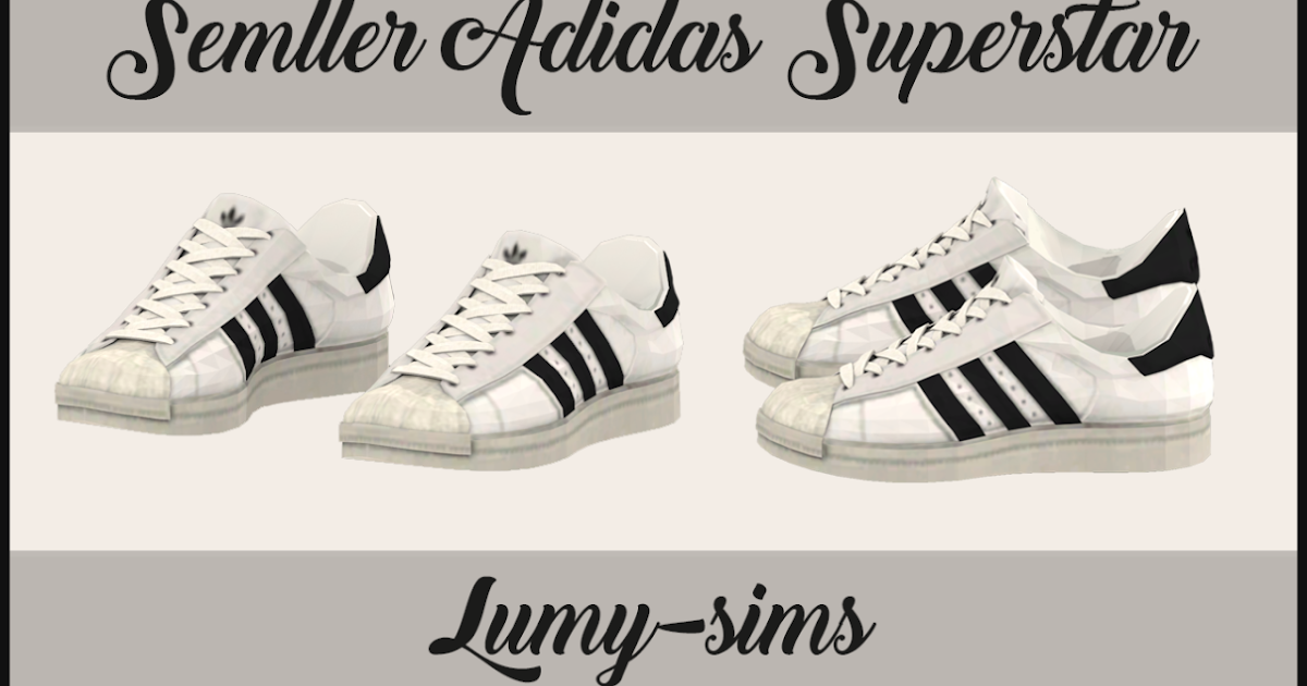 sims 4 chaussures adidas