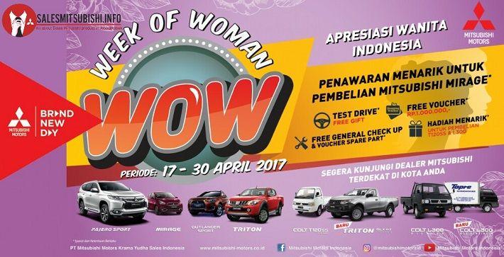 Program penjualan Mitsubishi di hari Kartini