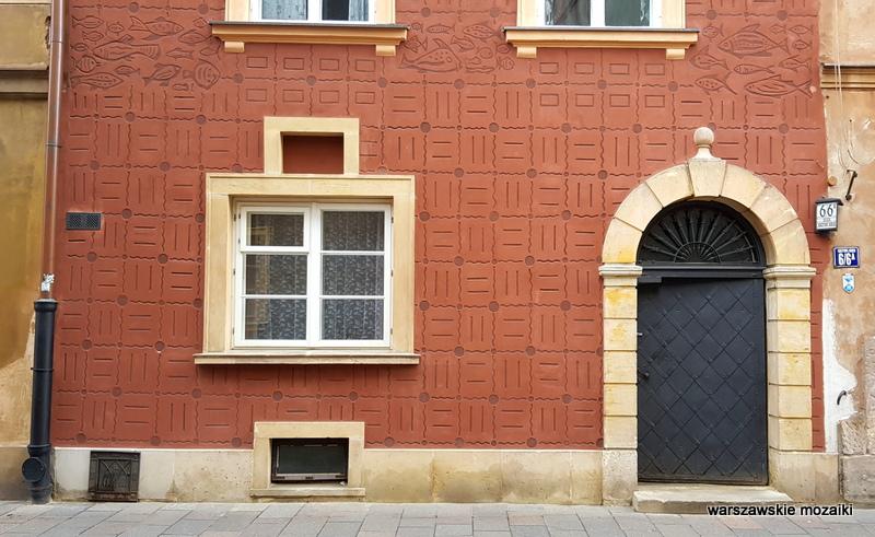 Warszawa Warsaw Stare Miasto Old Town kamienica architektura staromiejskie kamienice zabytek