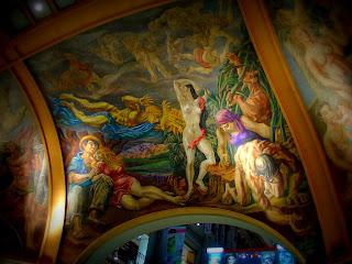 Pinturas no Segundo Andar das Galerias Pacífico, Buenos Aires