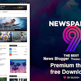 Newspaper Blogger Template free download 2020