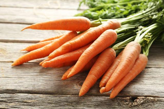 Zanahorias, las verduras del buen humor