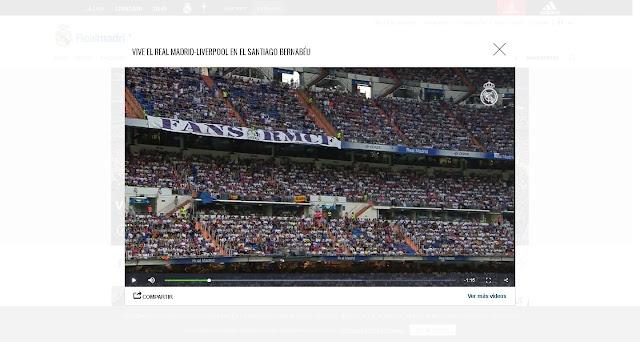 video promocional para ver la final de Kiev en el Bernabeu