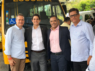 deputado destaca atuação de Rui Costa durante entrega de novos veículos