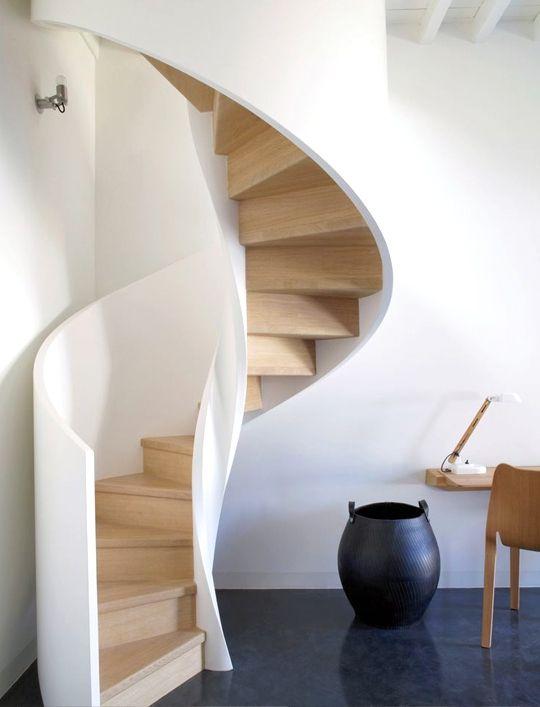 Agosto 31 escaleras de caracol - Escaleras de caracol modernas ...