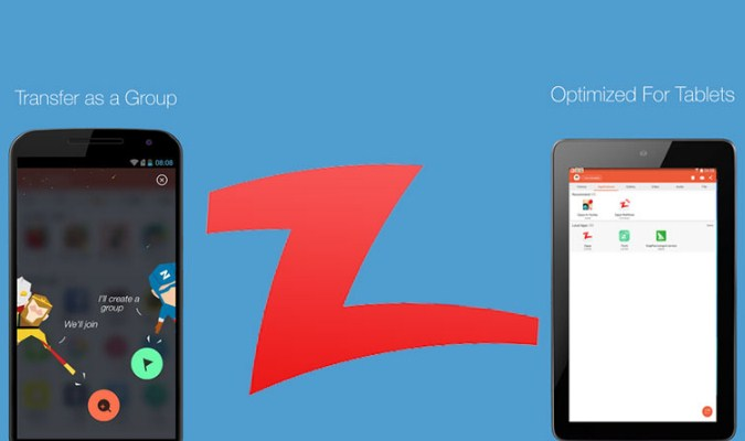 Alternatif Aplikasi SHAREit Terbaik tuk Smartphone Android - Zapya