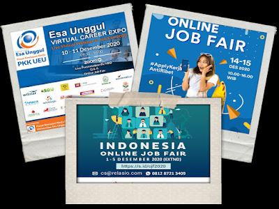 Jadwal Job Fair Lengkap di Bulan Desember 2020