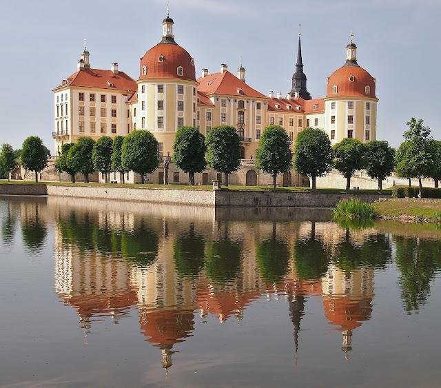 モーリッツブルク城、ドイツ、城