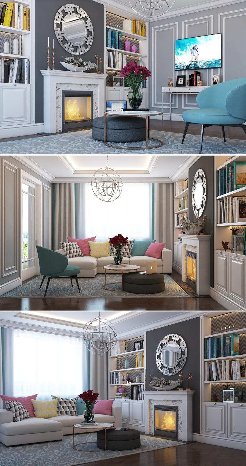 Apartamento Elegante Moderno