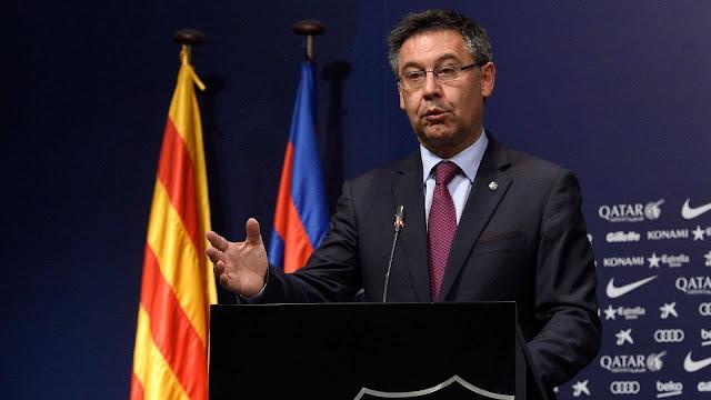 صفعة لنجوم برشلونة من بارتوميو