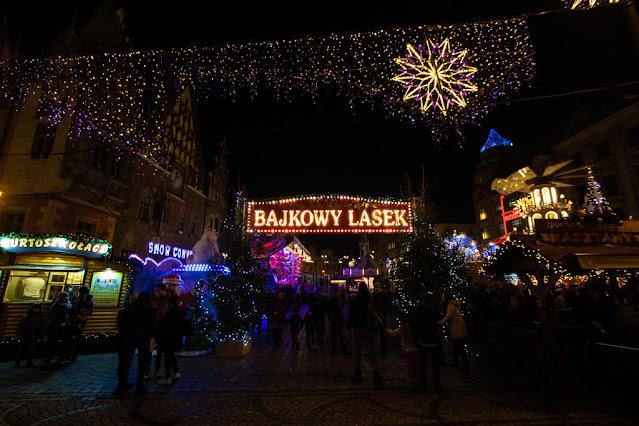 Mercatini di Natale al Rynek-Breslavia