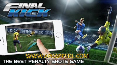 Download Final kick Online Football Mod Apk v3.5.1 Full OBB Data 2016