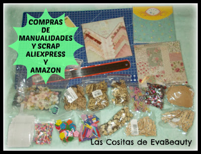 Compras Manualidades y Scrapbooking en Aliexpress y Amazon