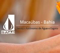 Concurso SAAE de Macaúbas 2018