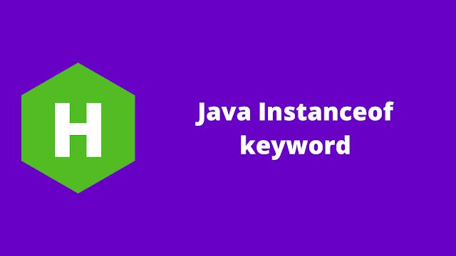 HackerRank Java Instanceof keyword problem solution