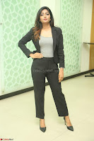 Actress Eesha Looks gorgeous in Blazer and T Shirt at Ami Tumi success meet ~  Exclusive 006.JPG