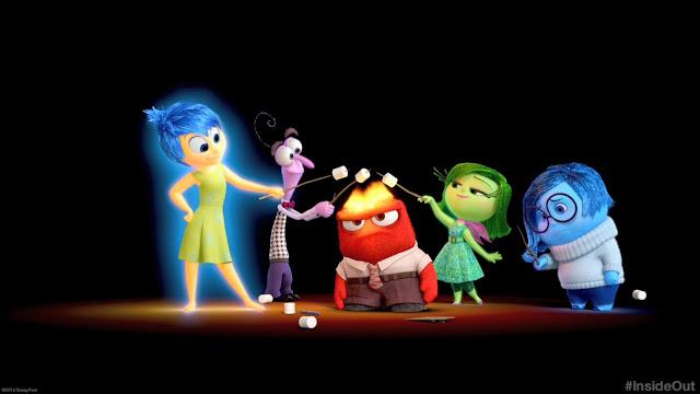 inside out pixar filme