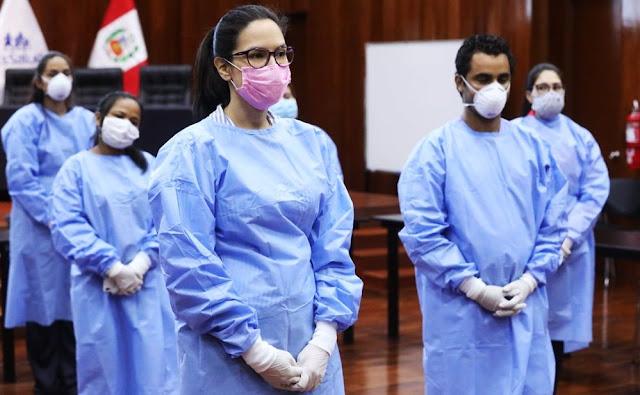 Médicos cubanos y venezolanos se unen a la lucha contra el Covid-19 en el Perú