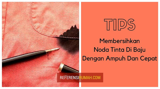 Tips Ampuh Membersihkan Noda Tinta Di Baju Dengan Cepat