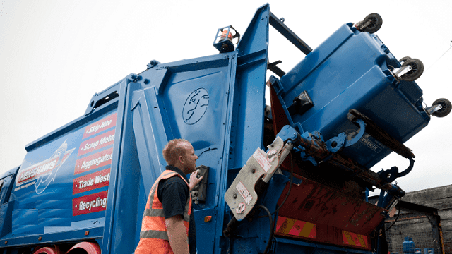 corporate waste management company trash removal services