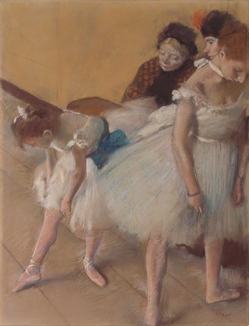 Эдгар Дега - Перед репетицией (1880)