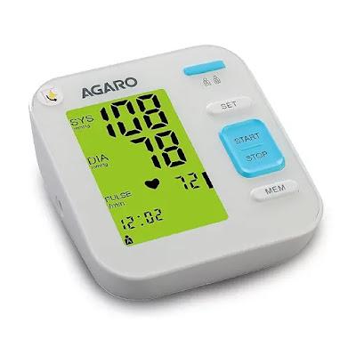 AGARO Automatic Digital Blood Pressure Monitor Machine BP-701 | Best BP Monitoring Machine in India | Best Blood Pressure Machine for Home Use Reviews