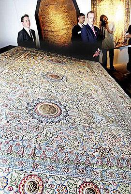La alfombra m s cara del mundo rinc n abstracto Mas alfombrar