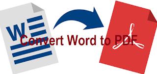 mengubah file dokumen dalam bentuk word ke pdf Cara Mengubah Word ke PDF Paling Gampang