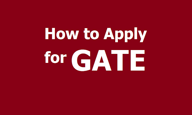 How to Apply for GATE 2020 and Registrations start from September 3 @ gate.iitd.ac.in