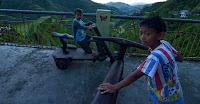 Local Ifugao scooter boys
