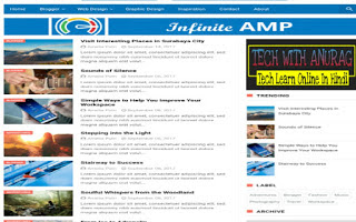 FREE AMP Ready Blogger Templates for Blogspot Domains in 2021-2022