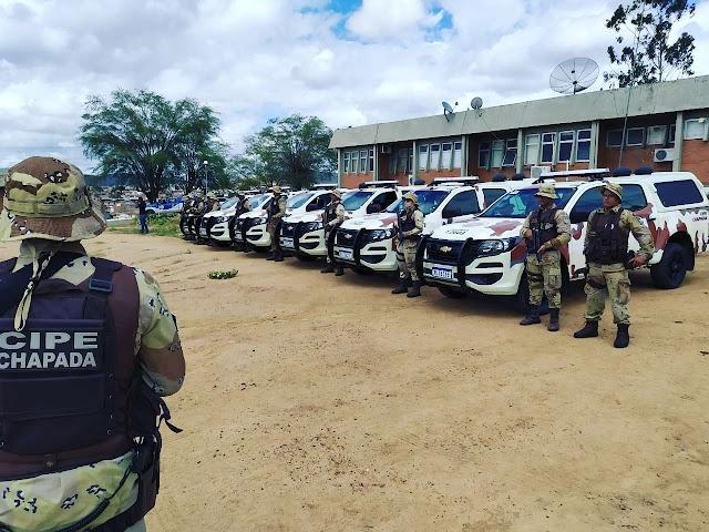Cipe Chapada divulga produtividade policial em 1 ano de comando do Maj. PM Normando