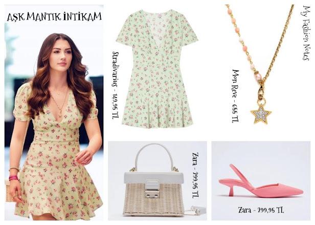 Aşk Mantık İntikam dizisi Esra'nın kıyafetleri